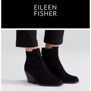 Eileen Fisher Black Peer Bootie NIB 6.5, 8.5, 8, 9